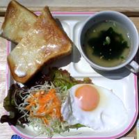 朝食サービス(洋定食)